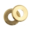 Metal Bead Round Flat 7X1mm With 3mm Hole Brass